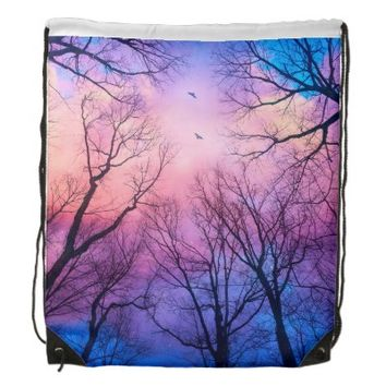 A New Day Will Dawn • Drawstring Backpack