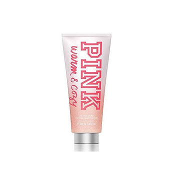 Victoria Secret Pink Warm and Cozy 2 in 1 Body Wash and Scrub