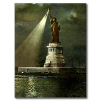 Postcard - Statue of Liberty