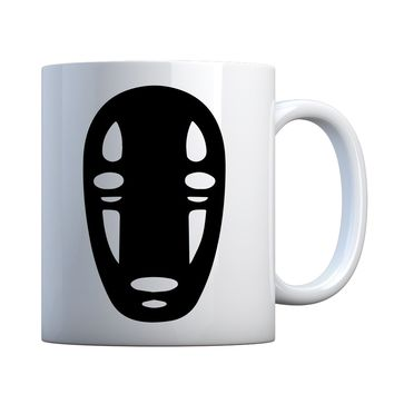 No Face Ceramic Gift Mug