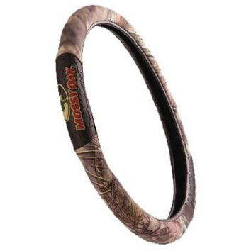 Mossy Oak® MSW3408 Camouflage Steering Wheel Cover, 2 Grip