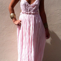 Pink Beauty Maxi dress