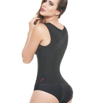 """Invisible"" Slimming Vest - Latex Free - High Back Coverage"