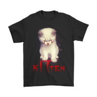 HCXX IT Pennywise KITtywise Kitten Purrrfect Stephen King Shirts