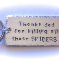 Fathers day gift | Gift for dad | Daddy keyring | Personalised dad gift | Our daddy | Thanks daddy | My daddy my hero gift | Dad present