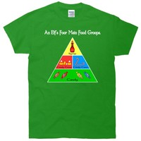 An Elf's Four Main Food Groupe T-Shirt