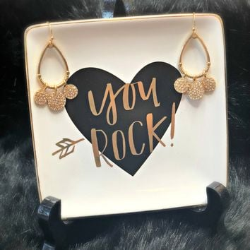 No Excuses Gold Earrings