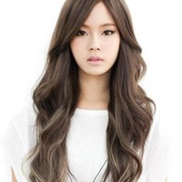 Cool2day® Western Women's 65cm Charming Long Curly Wig+wig Cap (Model: Jf010485) (Light Brown)
