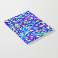 Blooming Retro Notebook by kasseggs
