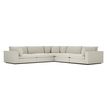 Goliath 5-Piece Modular Sectional Sofa