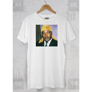 MLK Martin Luther King Jr Durag Stay Woke Adult Unisex T Shirt