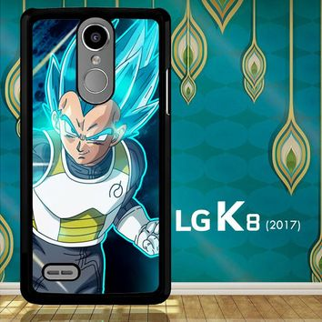 Vegeta Super Saiyan God Blue Z5039 LG K8 2017 / LG Aristo / LG Risio 2 / LG Fortune / LG Phoenix 3  Case