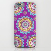 Colorful Mandalas iPhone & iPod Case by Sarah Oelerich