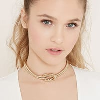 Knotted Chain Choker | Forever 21 - 1000170502
