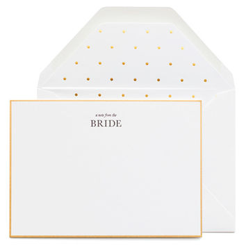 From the Bride Noteset