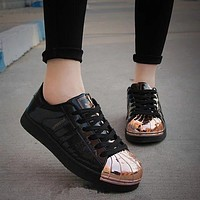 """Adidas"" Shell-toe Flats Sneakers Sport Shoes"