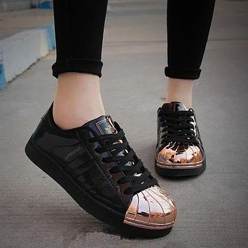 """""""Adidas"""" Shell-toe Flats Sneakers Sport Shoes"""