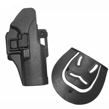 Blackhawk CQC Tactical Gun Holster Hunting Pistol Belt Paddle Loop Holster GL 17 19 22 23 31 32