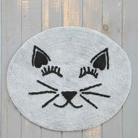 Plum & Bow Cat Mat- Grey One