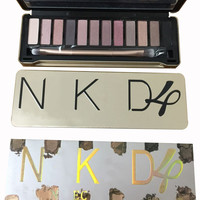 NK4 12 Color EyeShadow Palette