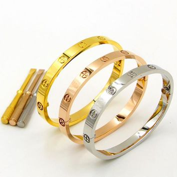 Kylie Jenner Style Cartier Love Bangle Bracelet Cuff