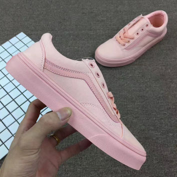 simpleclothesv :Vans Classics Old Skool Canvas WomenSneaker