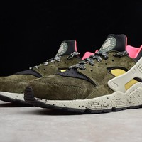 "Nike Air Huarache Run PRM ""ACG"" 704830-010 Running Shoes"
