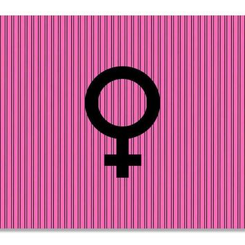 Female Symbol Print Wall Art