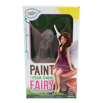 Creative Roots Paint Your Own Fairy Kit