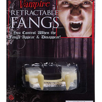 """Retractable"" Vampire Fangs"