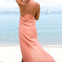ACACIA SWIMWEAR - Taveuni Maxi Dress | Papaya