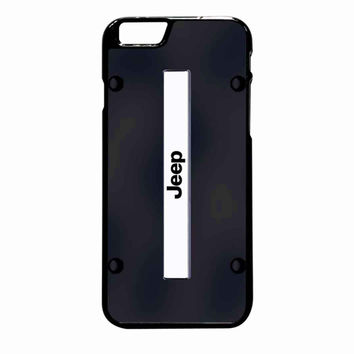 Jeep On Plate Black iPhone 6 Plus case