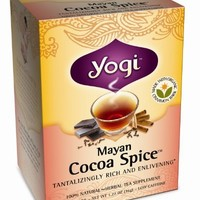Yogi Tea Mayan Cocoa Spice, 16-count (Pack of6)