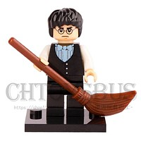 HARRY POTTER Movie YULE BALL VEST & BOW TIE HP125 Dumbledore Hermione Model Assemble Building minifig Blocks Bricks Kids Toy