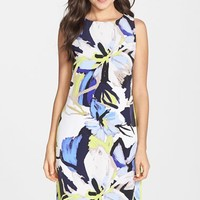 Women's Vince Camuto Floral Print Shift Dress,