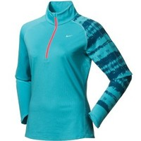 Nike Women's Printed Element Half Zip Shirt - Dick's Sporting Goods