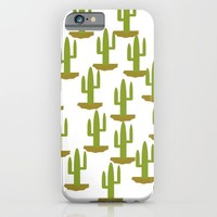 Cactus design, vector iPhone & iPod Case by Claude Gariepy
