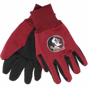 Florida State Seminoles - Adult Two-Tone Sport Utility Gloves
