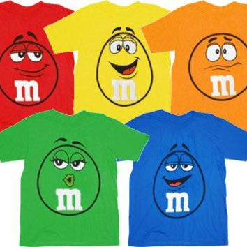 M&M M&M's Big Face Toddler T-Shirt  - M&M's - | TV Store Online