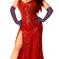 Plus Size Miss Jessica Costume