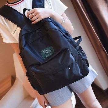University College Backpack 2017 New Candy Colors Women  Casual High Students Bag Hidden Zipper Pocket School Bag  Winds BookbagAT_63_4