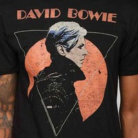 Junk Food David Bowie Low Tee- Black