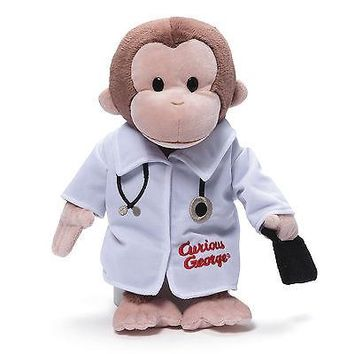 Gund Curious George Doctor