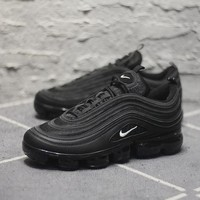 Nike Air Max 97 VaporMax Q100-3200 Black White Sport Running Shoes - Best Online Sale