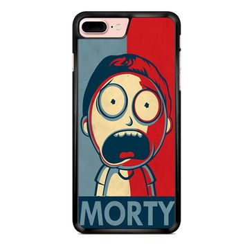 Rick And Morty In Style Of Shepard Morty iPhone 7 Plus Case