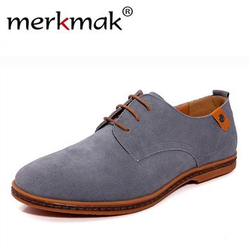 Men Shoes Suede Leather