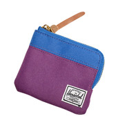 Herschell Supply Co Johnny Wallet Purple/ Cobalt