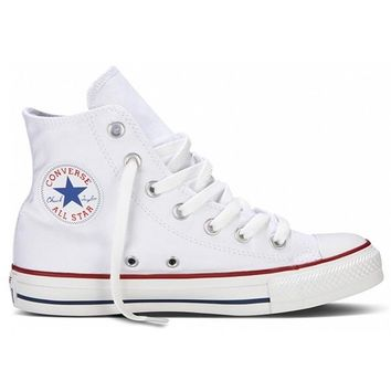 ... 2019 release 10c91 de707 Converse Chuck Taylor High Top - Optical White  ... d71fadaf4f75