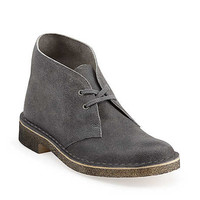 Desert Boot-Women in Grey Distressed Suede - Womens Boots from Clarks