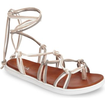MIA Ella Knotted Sandal (Women) | Nordstrom